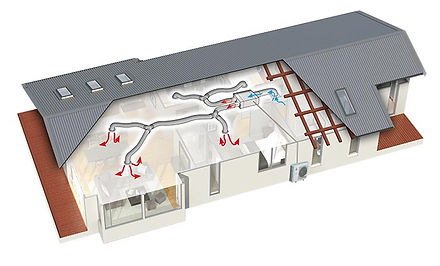 Ducted-heat-pump-system-cross-section-il