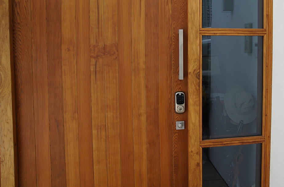 A Yale smart home deadbolt with Zigbee