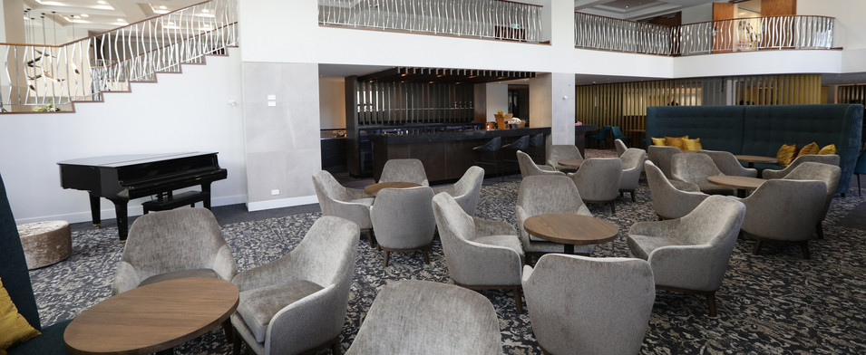 The Distinction Hotel Bar area