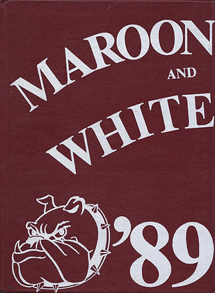 Sumner High Maroon and White 1989