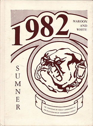 Sumner High Maroon and White 1982