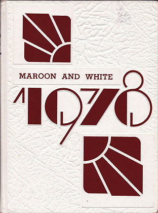 Sumner High Maroon and White 1978