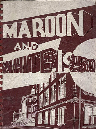 Sumner High Maroon and White 1950