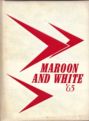 Sumner High Maroon and White 1965