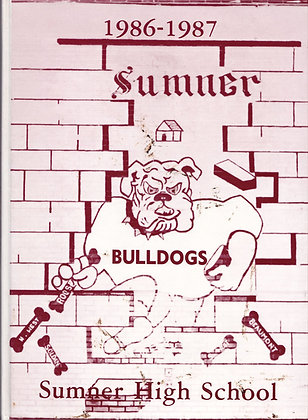 Sumner High Maroon and White 1986-1987