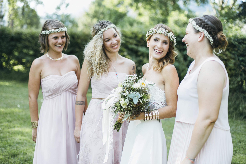 Hochzeit-Bridesmade