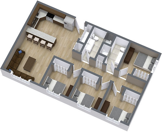 Marshall Project - 1. Floor - 3D Floor P