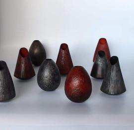 Vases Colorés - La Boissellière - Lydie Billon -