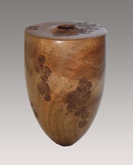 Vase Noyer Cristalisation - La Boissellière - Lydie Billon -