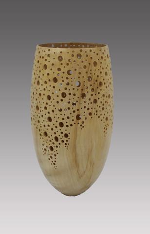 Vase ajouré fait main - La Boissellière - Lydie Billon -