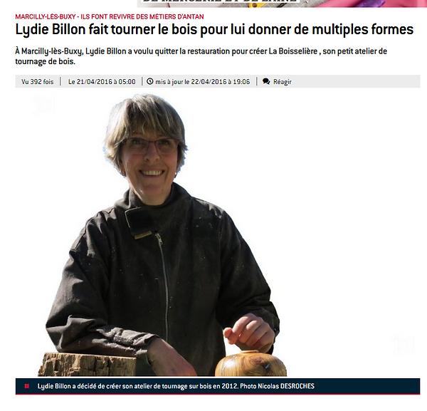 Photo Article Journale de Saone et Loire