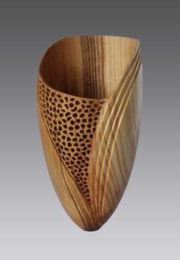 Vase en Frêne - La Boissellière - Lydie Billon -