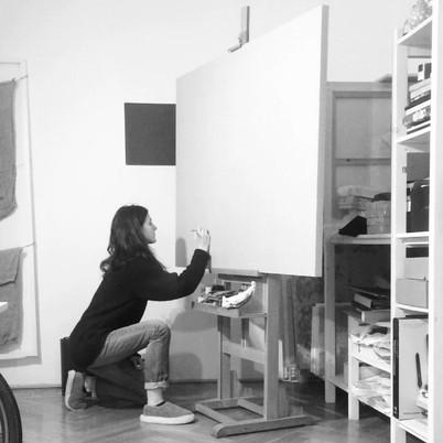 studio on a canvas