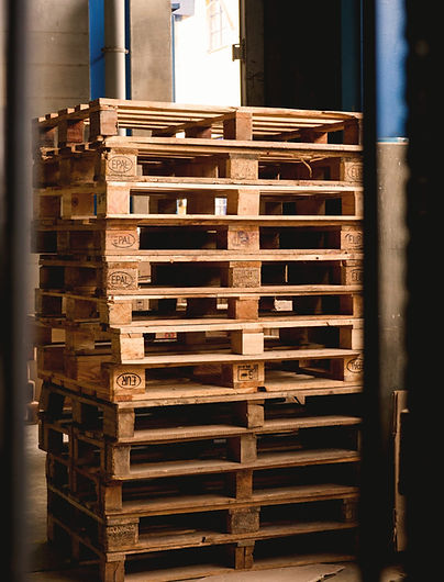 Stacked Pallets at Reston Packaging.jpg