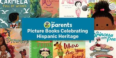 Enlace para libros ilustrados de la herencia hispana.