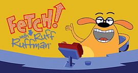 Enlace pata Fetch con Ruff Ruffman.