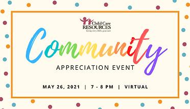 Link to Community Appreciation Event