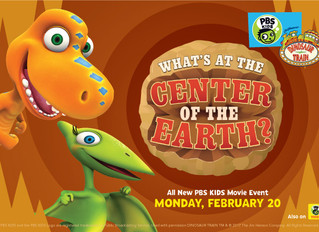 """Dinosaur Train: What's at the Center of the Earth"""""""
