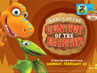 Dinosaur Train: What's at the Center of the Earth""
