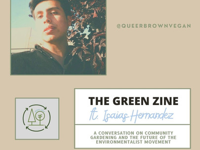 A conversation on community gardening and the future of the environmentalist movement