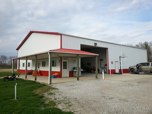 residential/agricultural bldg w/porch