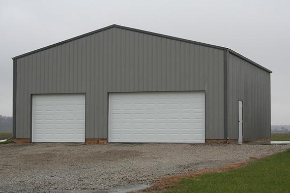 large storage building