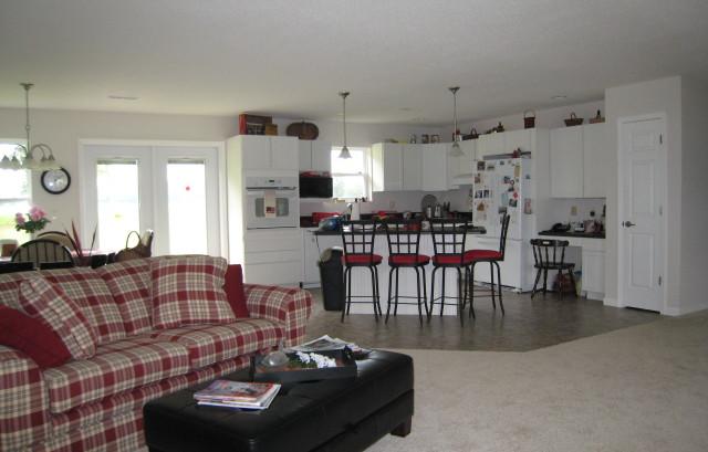 interior post frame home