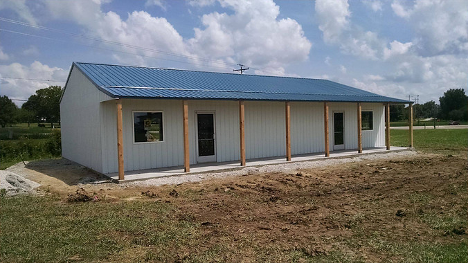 business post frame building