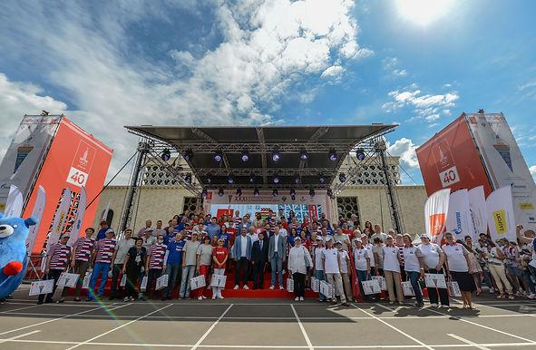 Всероссийский Олимпийский день в Лужниках. Как это было