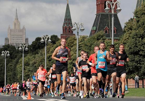 Старт дает Москва. В столице прошло первое после перерыва массовое спортивное мероприятие