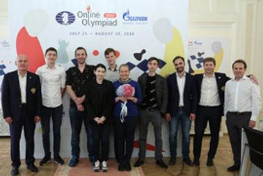 Сборная России выиграла первую в истории шахматную онлайн-олимпиаду