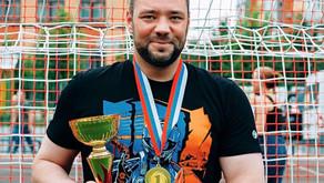 Пётр Казанский стал победителем фестиваля дворовых видов спорта