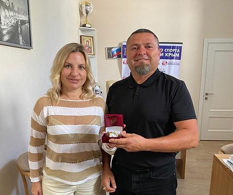 Министр Спорта Республики Крым