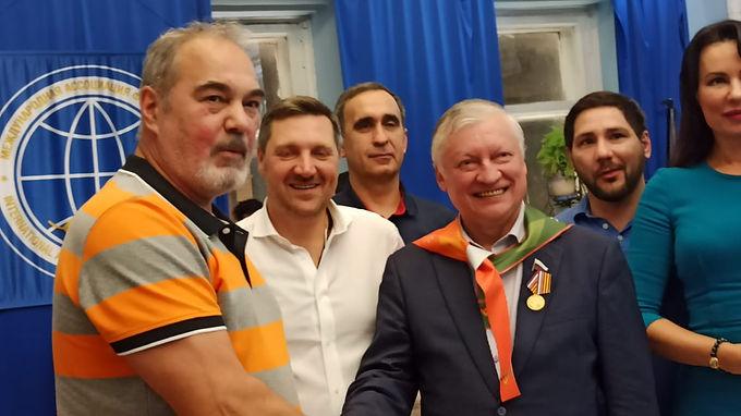 Президенты федераций СННВС России собрались в мраморном зале