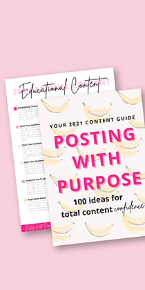Posting With Purpose