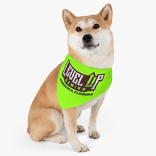 Pet Bandana Collar - Green