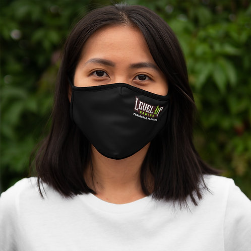 Fitted Polyester Face Mask Logo