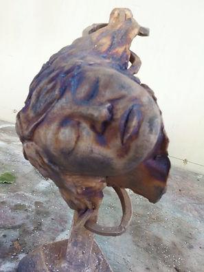 bronze sculpture, sculpture, bronze, Dan Woodard, figurative sculpture, contemporary sculpture