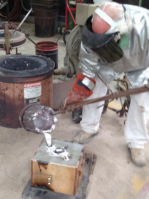 sculpture, Dan Woodard, aluminum foundry, foundry, sculptor,