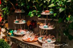 Alice in Wonderland Candy Bar