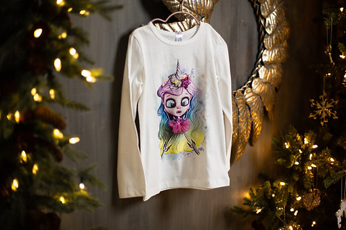 UNICORN T-shirt with Long Sleeves