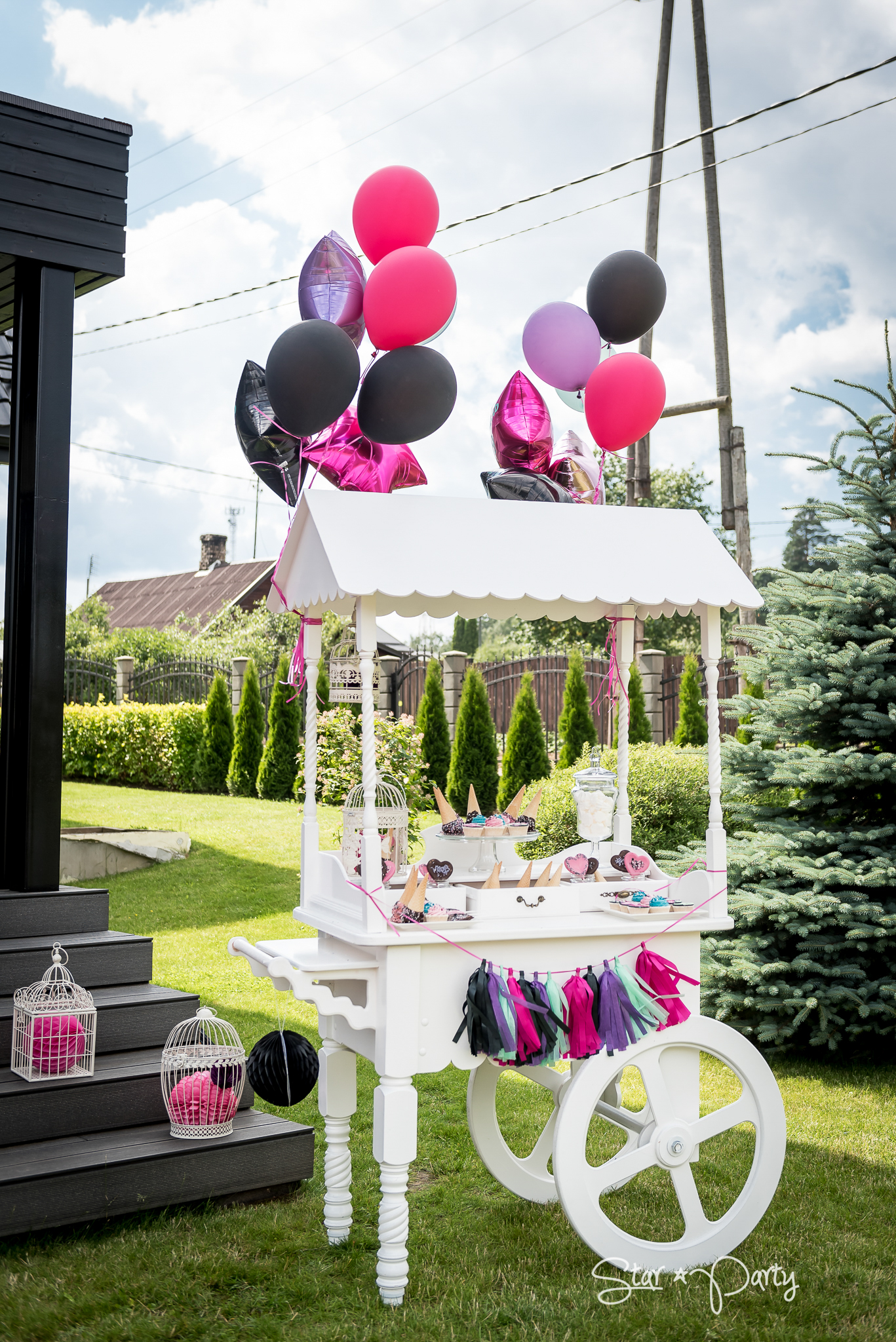 Candy Bar for Garden Party
