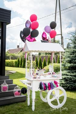 Candy Bar for Garden Party