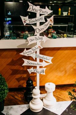 Alice in Wonderland Direction Signs