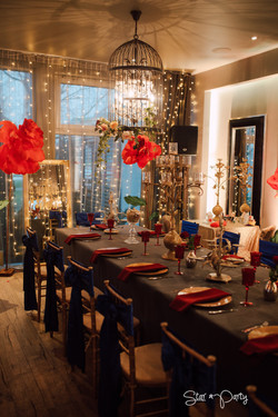 Beauty and The Beast Table Set
