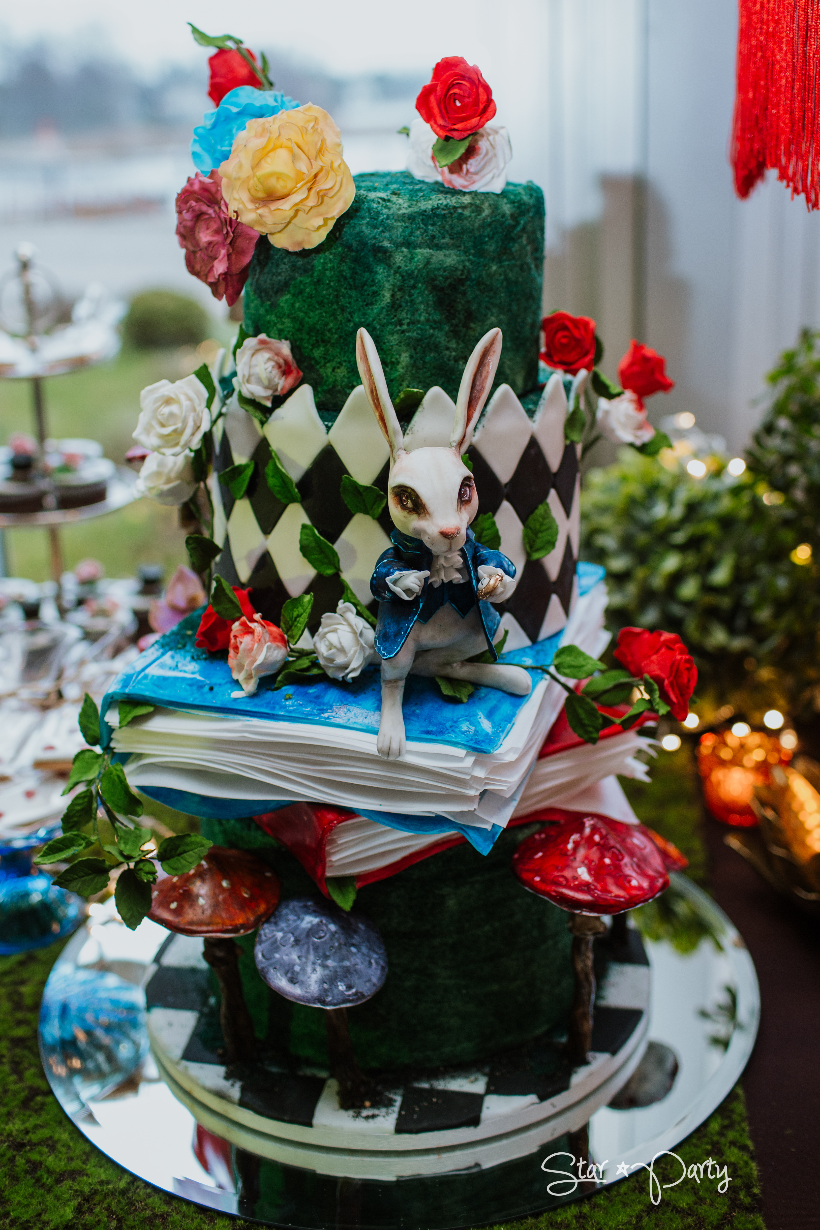 Alice in Wonderland Candy Bar