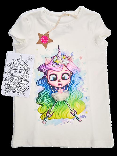 T-shirt Unicorn