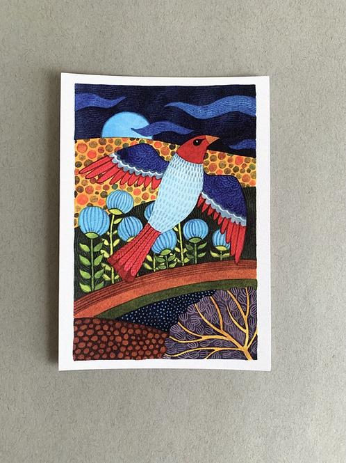 Desert Home 1 - Message Card + Envelope set