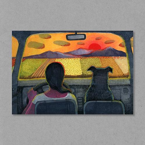 Drive-thru Sunsets