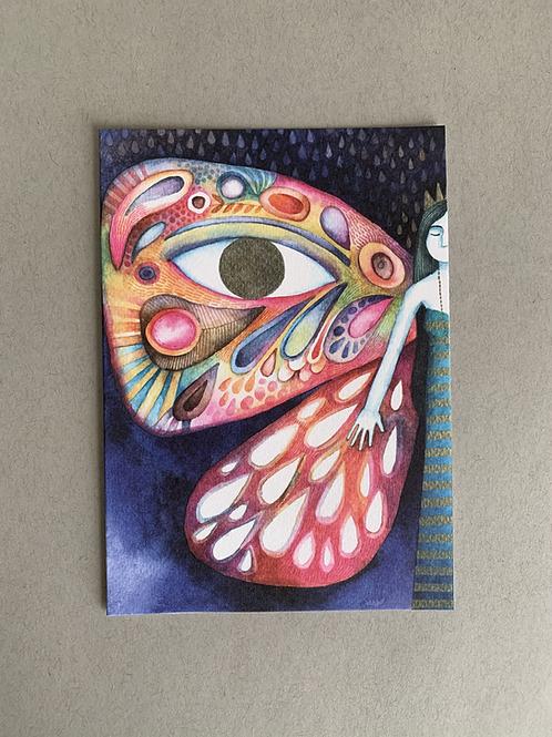 Butterfly - Blank Card + Envelope set